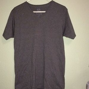 Other - Men's gray v neck tee shirt size S